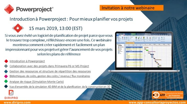 Quickly and easily create an impressive plan for your projects with Powerproject and manage the progress of your projects.