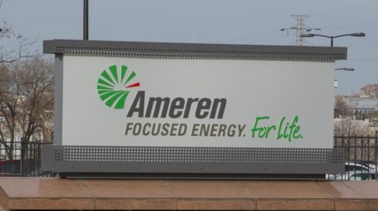 Ameren, an American power company, services 2.4 million electric and 900,000 natural gas customers over 64,000 squaremiles.