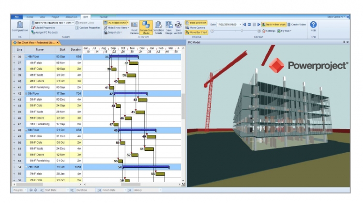 Powerproject BIM is a 4D-BIM enabled application that links your project plan and model together. Don't miss this opportunity to create your project plan.