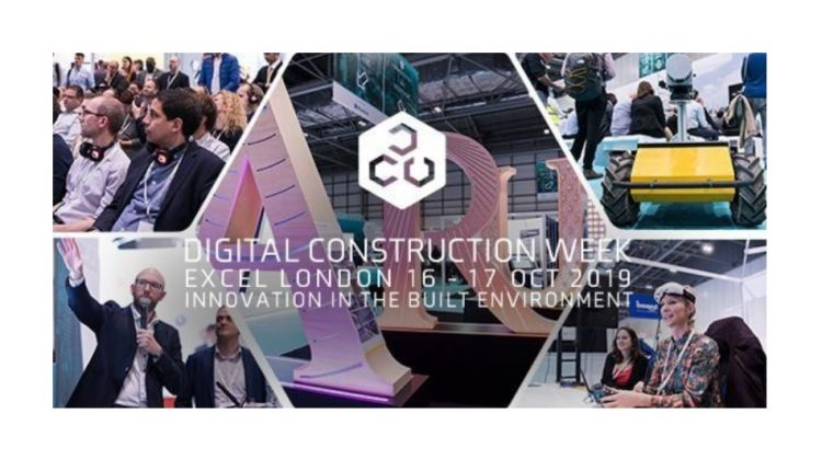 Digital Construction Week was held this year on the 16th and 17th October at London ExCel and focused on innovation and technology in the built environment.
