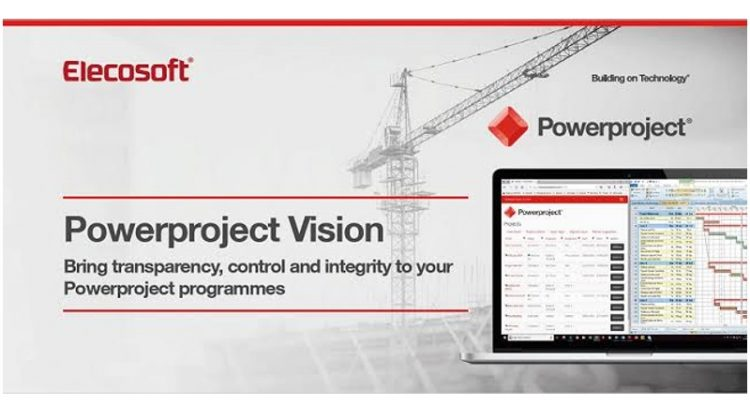 Powerproject Vision is a new web based portal designed for organisations with multiple users who need a controlled programme management environment.