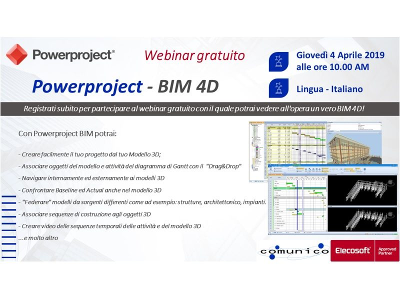Powerproject 4D-BIM Scheduling