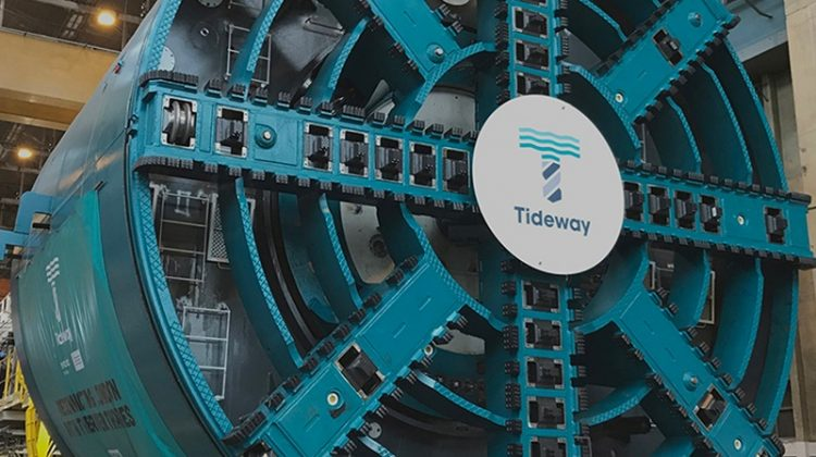 The Thames Tideway Project Upgrading London's sewerage system to clean up the River Thames and cope with the capital's growing demands.