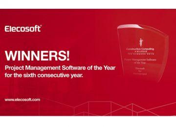 Powerproject Gana el Premio Software de Gestión de Proyectos del Año por Sexto Año Consecutivo