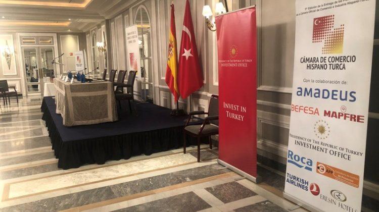 APP Consultoría de Gestión de Proyectos asistió a la ceremonia de entrega de premios de la Cámara de Comercio e Industria Hispano-Turca.