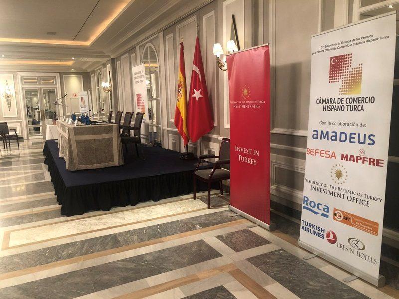 Spanish-Turkish Chamber of Commerce & Industry Award Ceremony