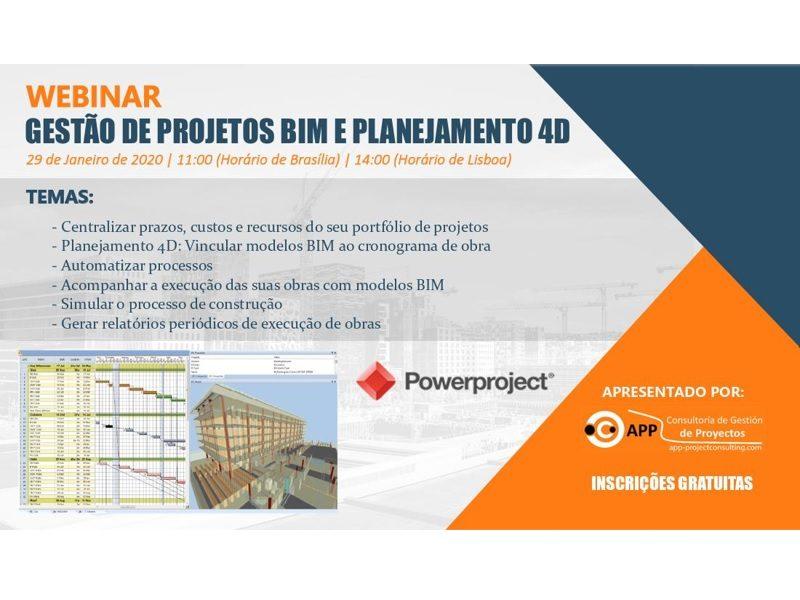 Gestão de Projetos BIM e Planejamento 4D