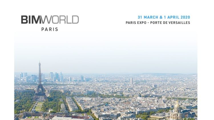 We are glad to announce our participation in the BIM World Paris exhibition which will take place from March 31 to April 1, 2020.