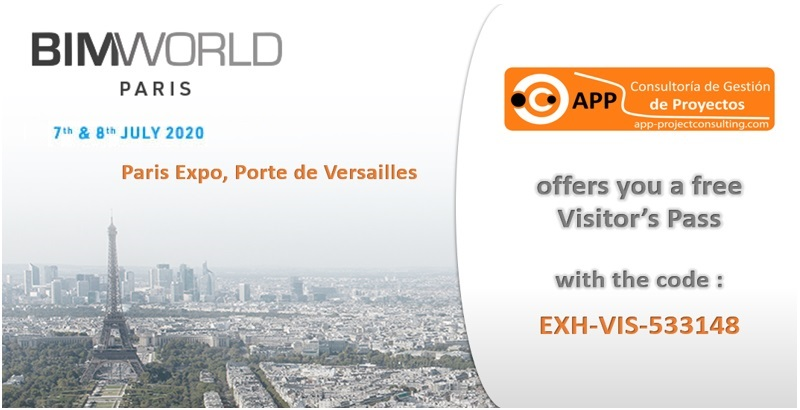 APP Consultoría Demostrará en BIM World Paris