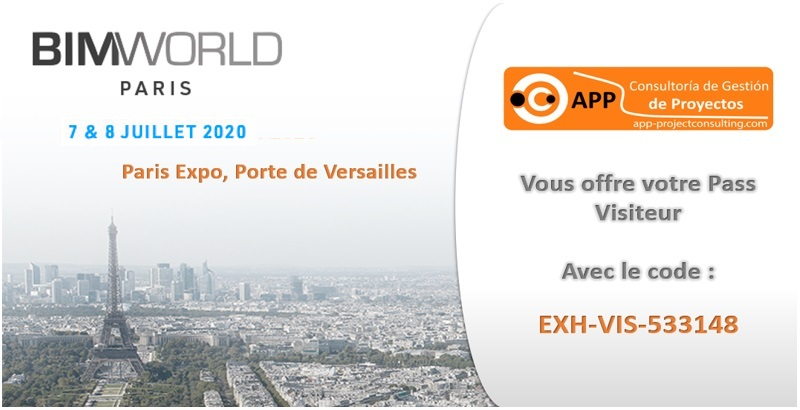 APP Consultoría fera une démonstration au BIM World Paris