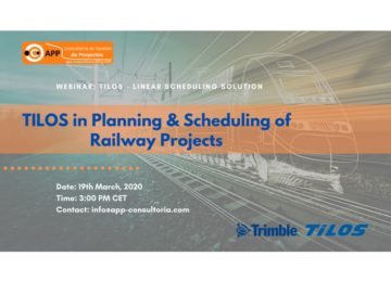 TILOS in Planning & Scheduling of Railway Projects
