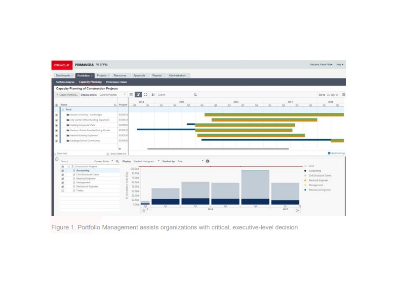 Oracle's Primavera P6 Enterprise Project Portfolio Management