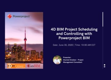 4D BIM Project Scheduling & Controlling with Powerproject BIM