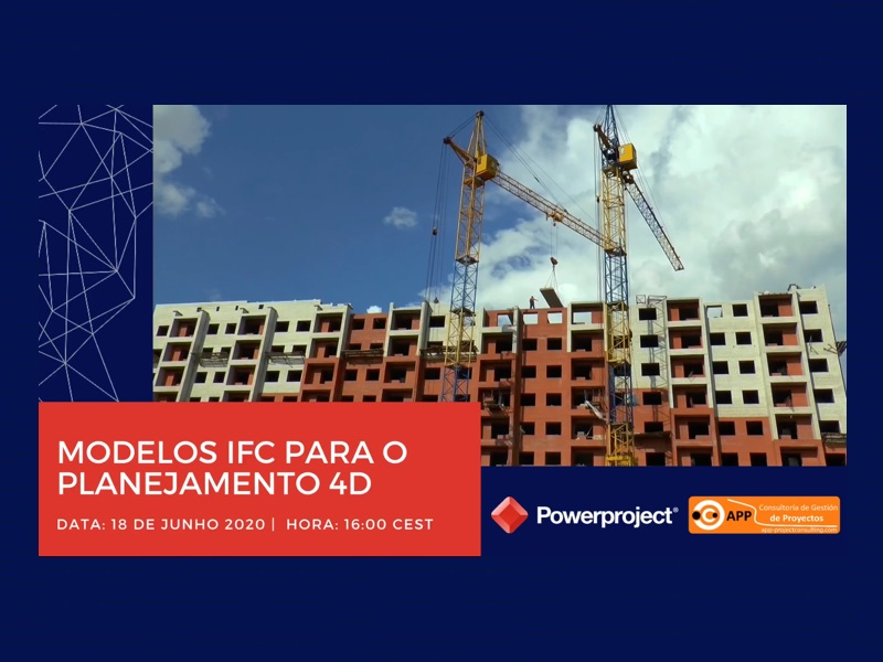 In this webinar, we will present how to work with the IFC model data, in an optimized way, to realize a 4D planning with Powerproject BIM.