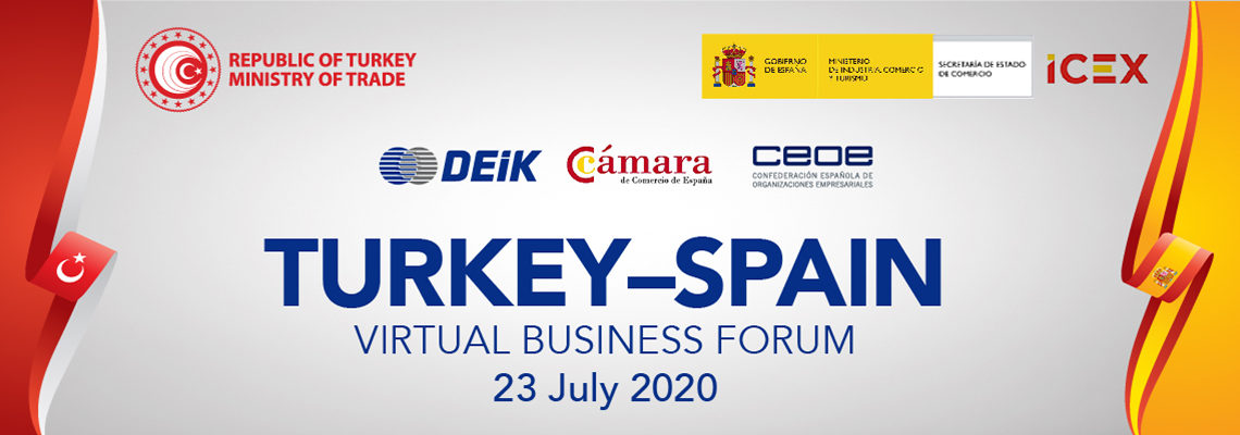 TURKEY – SPAIN VIRTUAL BUSINESS FORUM