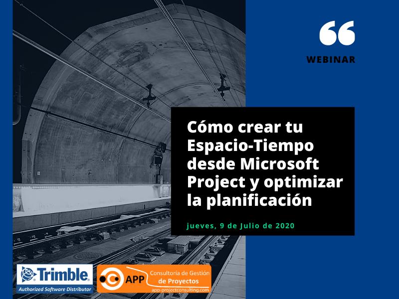 El objetivo de este seminario en línea, es mostrar como montar un Diagrama Espacio-Tiempo básico en 30 minutos, con la información recopilada de nuestro proyecto, a través de Trimble TILOS.