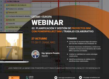 Planificación y gestión de proyectos BIM con Powerproject BIM – Trabajo colaborativo