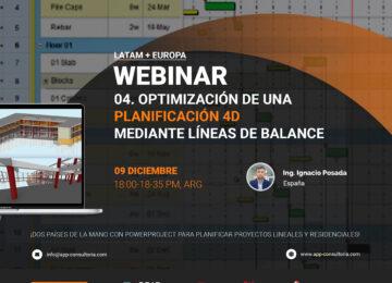 Optimización de una Planificación 4D mediante Líneas de Balance