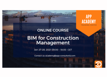 BIM for Construction Management – Online Training