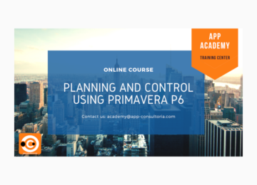 Planning and Control Using Primavera P6 – Online Training