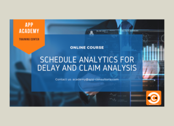 Schedule Analytics for Delay and Claim Analysis – Online Training