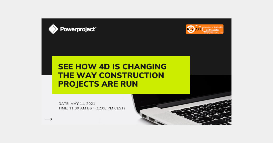 See how 4D is changing the way construction projects are run – Free Webinar