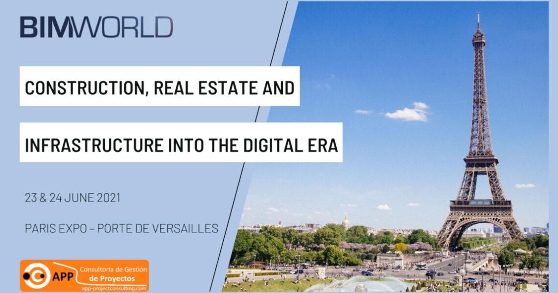 APP Consultoría will showcase at BIM World Paris