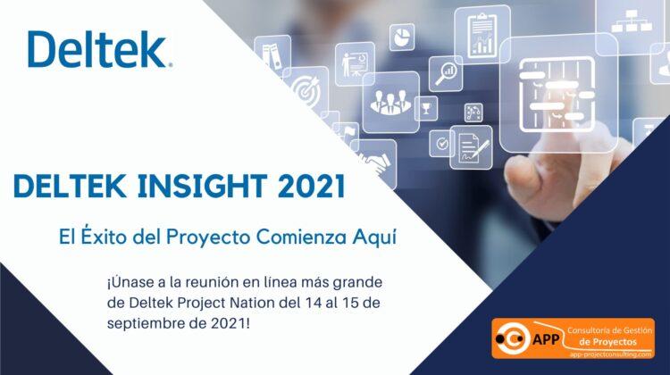 ¡Únase a la reunión en línea más grande de Deltek Project Nation del 14 al 15 de septiembre de 2021